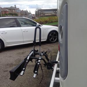Thule 2bike carrier with lock as new cost £170 asking £85