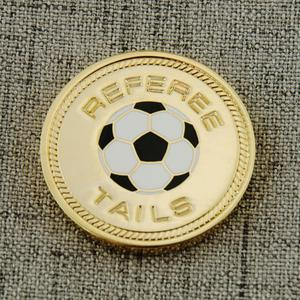 Youth Soccer League Custom Coins