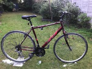 adults appollo cx10 hybrid road bike hardly used