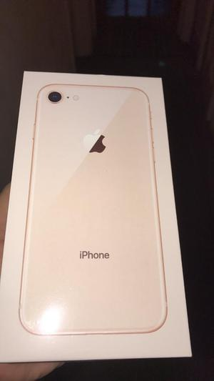 iPhone 8 64Gb gold brand new sealed and unlocked