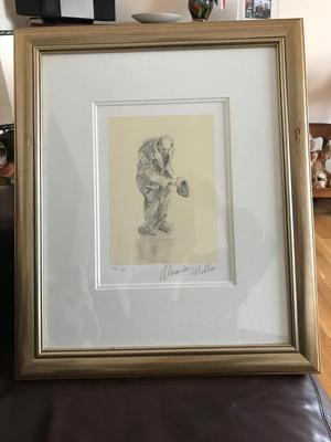 Alexander miller pencil drawing, only £175, bargain!