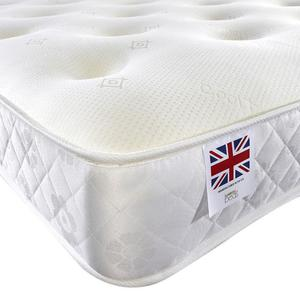 BRAND NEW MEMORY POCKET 3FT SINGLE 4FT6 DOUBLE 5FT KINGSIZE MATTRESS FREE DELIVERY UDA