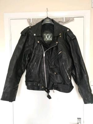 Eagle Leather Black Jacket
