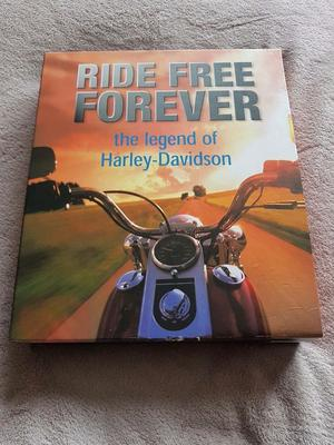 Ride Free Forever the Legand of Harley Davidson. 2 Book ser. Very Good Condition