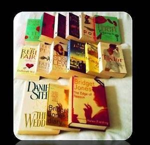 WOMEN'S FICTION BOOK BUNDLE - PAPERBACK/HARDCOVER - (15) - FOR SALE