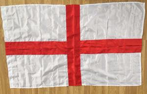 Wholesale Joblot Clearance Stock of ENGLAND FLAGS 140CM LONG ONLY 1.00p Each MUST GO