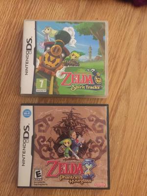 2 Zelda Nintendo DS games very good condition
