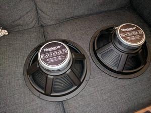 "Blackstar "" guitar amplifier speakers"