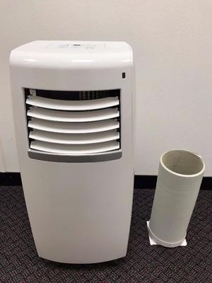CHALLENGE 8K AIR CONDITIONER + EXHAUST HOSE PORTABLE UNIT BTU AIR CON RRP £300