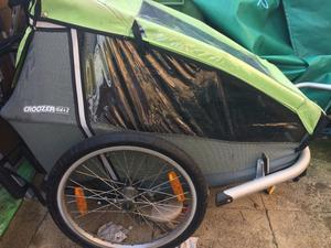 Croozer Kid for 2 Child Bike Trailer: Bicycle trailer incl. trailer kit, stroller kit, jogger kit