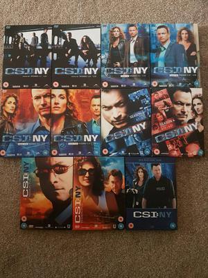 Csi new York complete seasons 1-6 & Criminal minds seasons 1-5