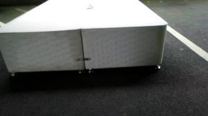 Double bed base with mattress