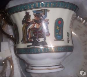 Egyptian cup saucer set