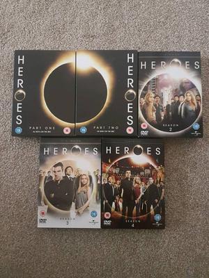 Heroes Complete seasons 1-4 The walking dead seasons 1-2 Boardwalk empire seasons 1,2,4