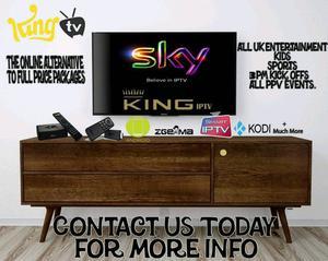KING IPTV TOP QAULITY IPTV SERVICE 50 A YEAR