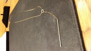 """Ladies 9ct Gold 22"""" Necklace W/Straight bar"""