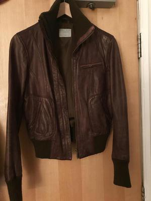 Ladies leather jacket. 12