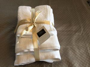 Luxurious Hotel Collection 100% Egyptian Cotton Towel Bale - White