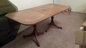 Mahogany dinning table