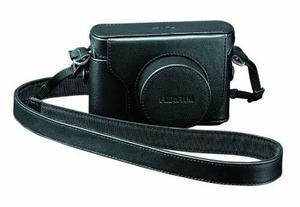 NEW Fujifilm LC-X10 Black Leather Camera case for Fujifilm X10/X20