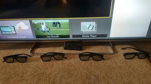 """Panasonic 47"""" LED SMART 3D TV Ultra Thin"""