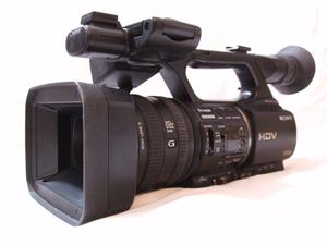 SONY HVR-Z5E HDV/MiniDV CAMCORDER OUTFIT inc MRC1K CF CARD UNIT CASED (PAL)