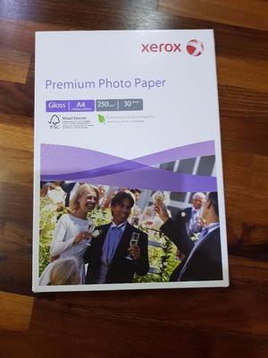 Xerox PREMIUM A4 GLOSS Photo Paper 30 Sheets (A x 297mm) 250g/m2