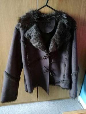Yazz Faux Suede Jacket