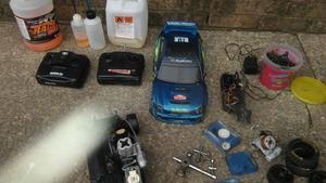 nitro remote control car
