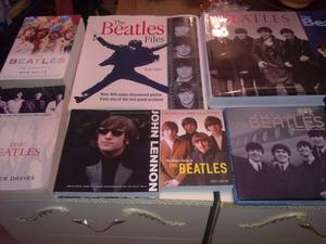 10 X BEATLES BOOKS FOR SALE.