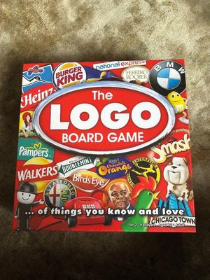 Brand New The Logo Board Game