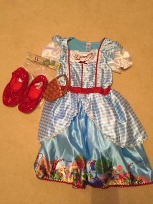 Dorothy Wizard of Oz dress up outfit Age