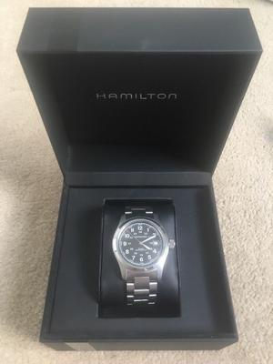 Hamilton Field Automatic Watch - 38mm. Excellent condition