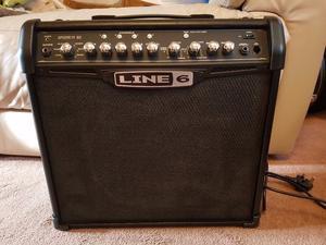 Line 6 Spider IV 30 Guitar Amplifier (30 Watts). Celestion Speaker + VD400 Pedal.