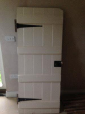 Old bedroom door
