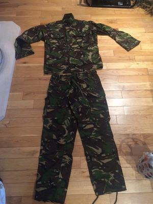RAF ARMY NAVY combat trousers and lightweight jacket