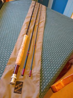 Sharpes of Aberdeen Aquarex 11foot fly rod
