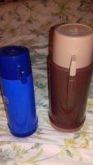 2 x thermos flask