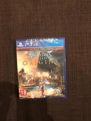 Assassin's creed Origins Brand new for PlayStation 4