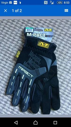 Brand new Mechanix m-pact gloves. Brand new with tags etc. Size XL
