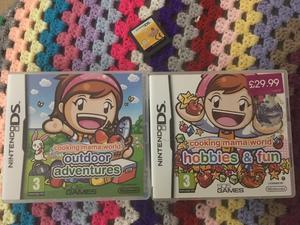 Cooking mama (3x games)