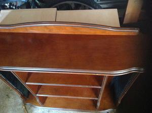 Mahogany CD Cabinet/Shelf unit