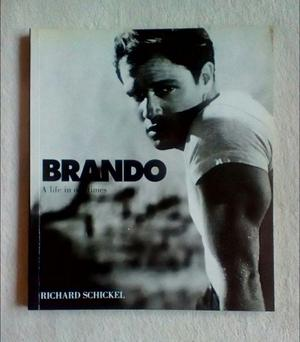 Marlon Brando: A Life in Our Times by Richard Schickel (Paperback Book) HOLLYWOOD CLASSIC ACTOR Gift