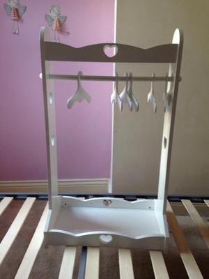 Princess dress up clothes rail