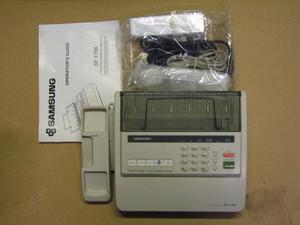 Samsung SF Fax machine with two roles of paper