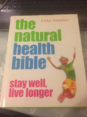 The Natural Health Bible - Hardback Book - £2.00