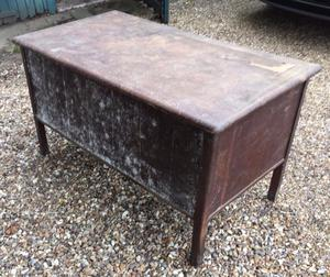 VINTAGE / RETRO OFFICE DESK UP-CYCLE PROJECT BARN FIND FREE LOCAL DELIVERY