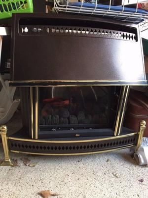 Valor Homeflame radiant/convector Gas Fire