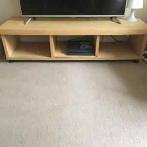 Wooden TV stand for sale