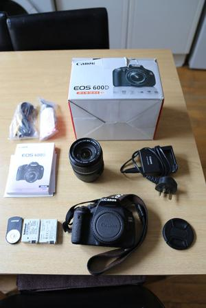 Canon 600D with Canon EFS mm lens